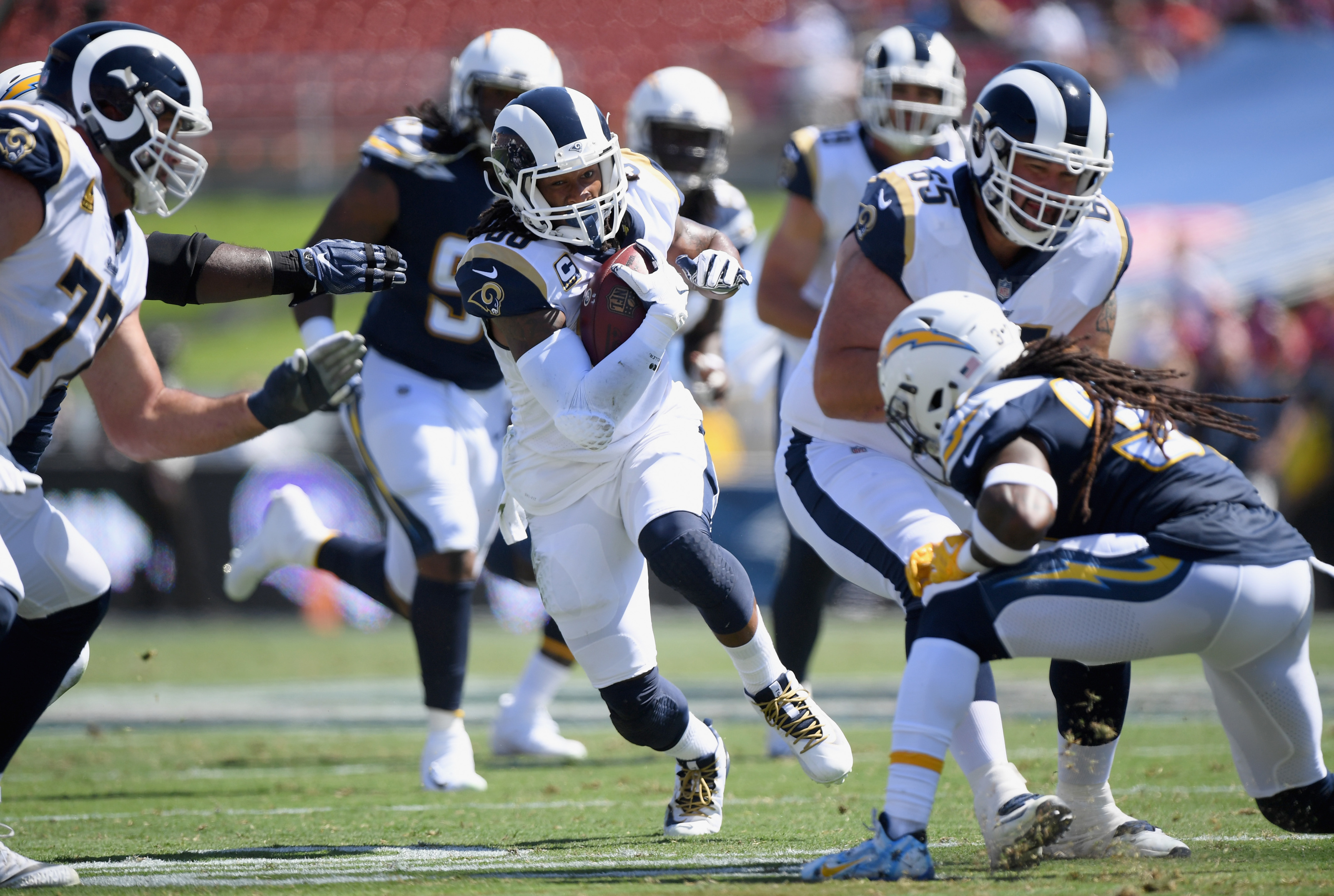 Los Angeles Chargers Are Just As Effected By Todd Gurley S Knee Problems
