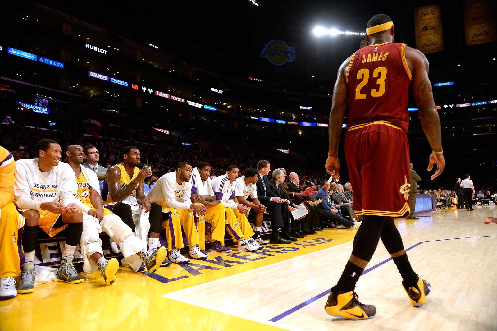 Lebron James LABRON King Lakers Los