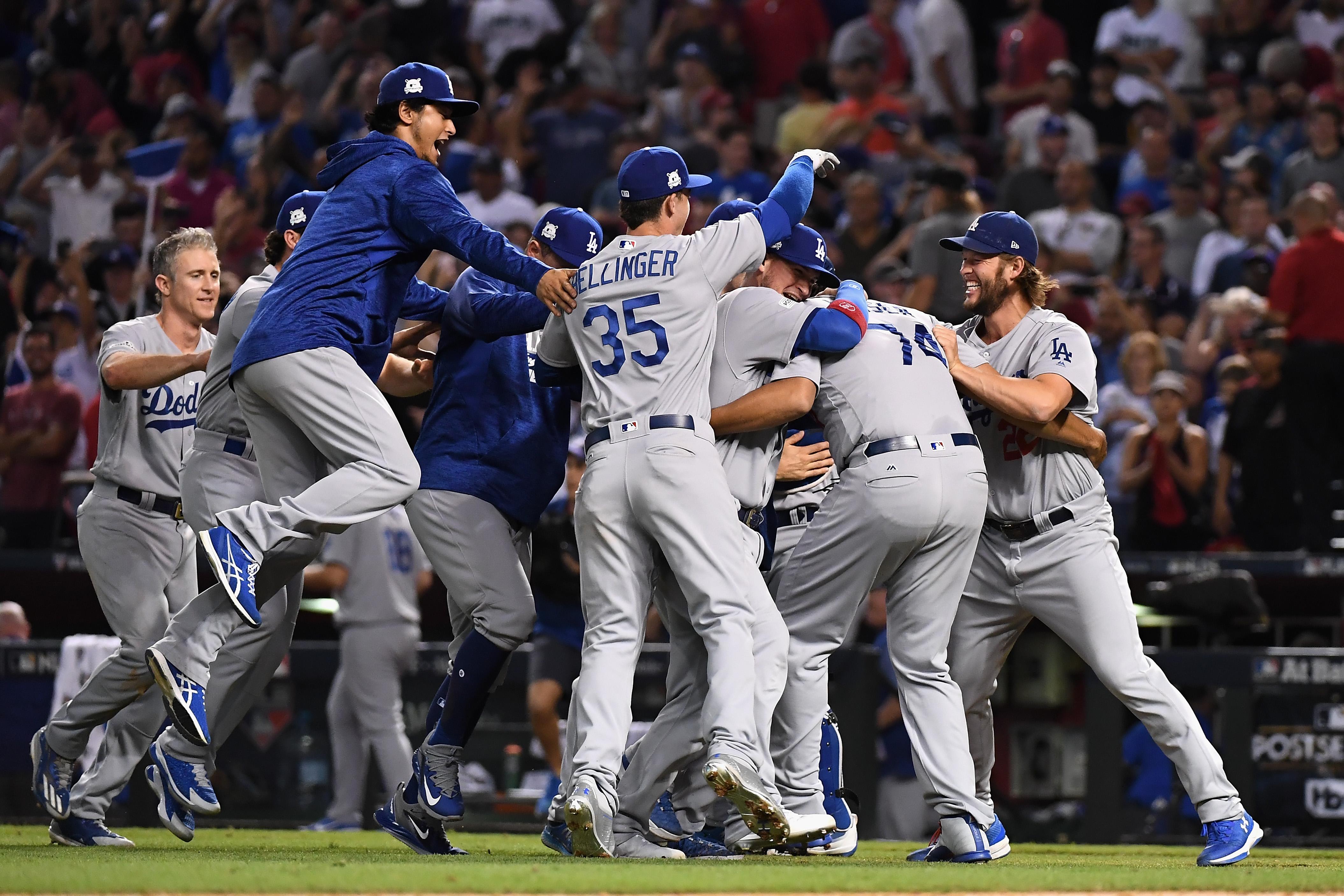 NLDS: Los Angeles Dodgers sweep away Arizona Diamondbacks, advance to NLCS