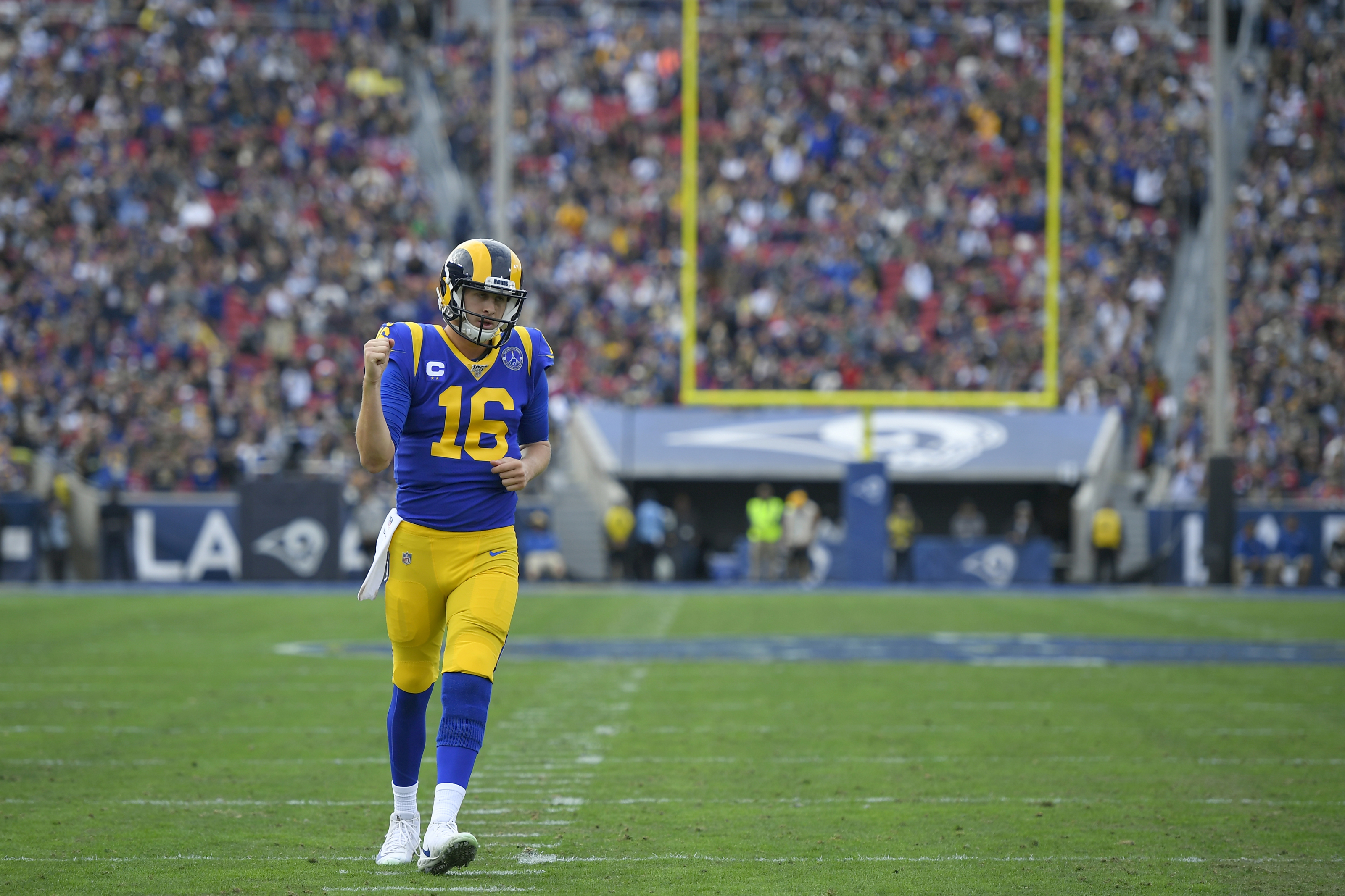 Los Angeles Rams It Is Way Too Early To Give Up On Jared Goff