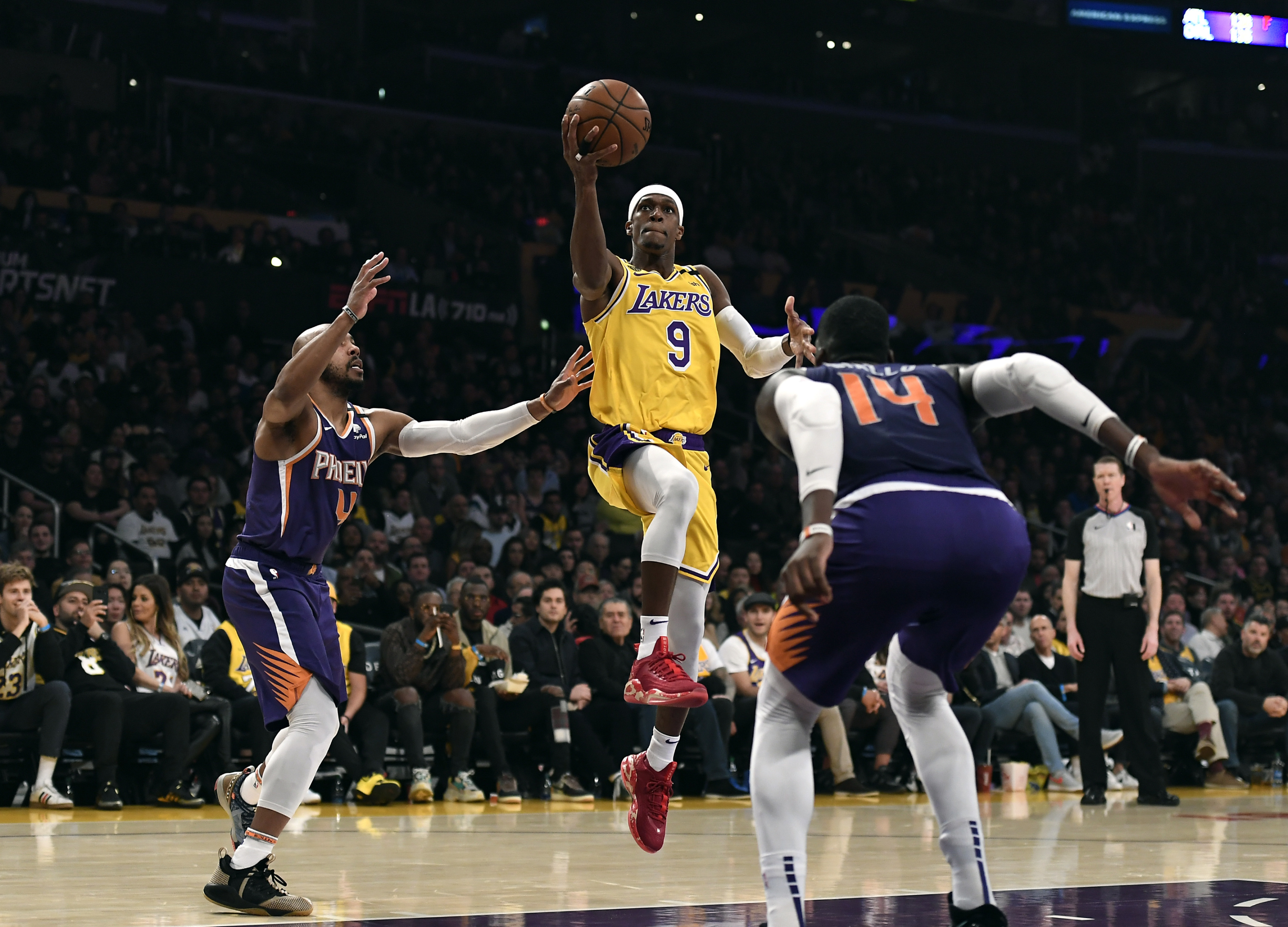 Los Angeles Lakers Player Spotlight Rajon Rondo