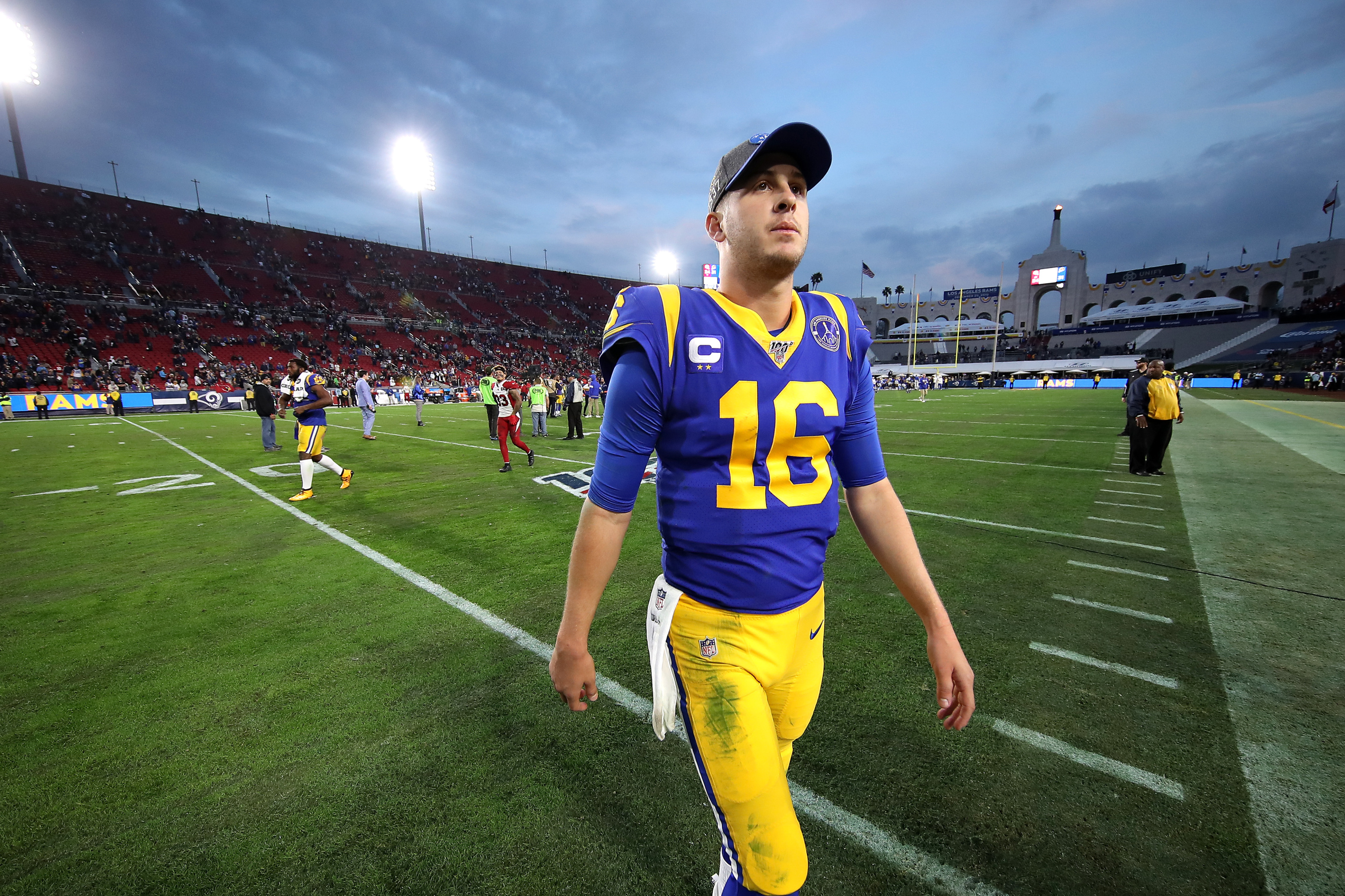 Los Angeles Rams The Weight Of The Franchise Now Lies On Jared Goff